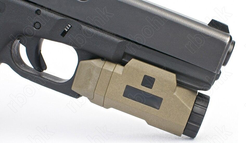 APL táctico Arma Pistola de luz para picatinny rail mount caza disparos DE M4968