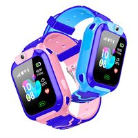 Q12B Waterproof Kids Smart Watch SOS Antil lost Smartwatch Baby 2G SIM Card Clock Call Location Tracker Smartwatch PK Q50 Q90 Q5|Smart Watches| |  -