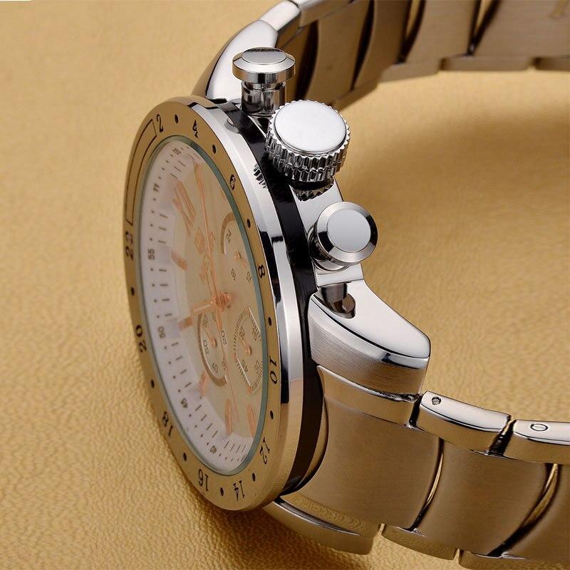 MEGIR roestvrij staal lichtgevende herenhorloges Top luxe merk - Herenhorloges - Foto 4