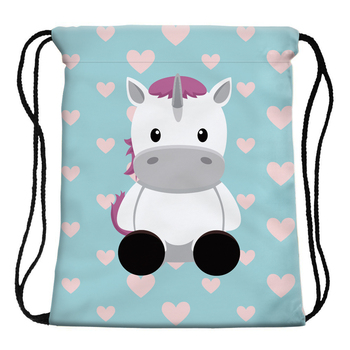 3D Printing Unicorn Drawstring Bag