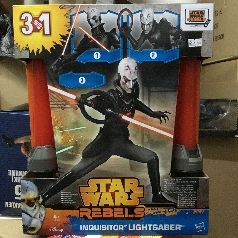 Free shipping Star Wars Lightsaber Cosplay Sword Star Wars Rebels Inquisitor Lightsaber PVC Action Figure KB0363