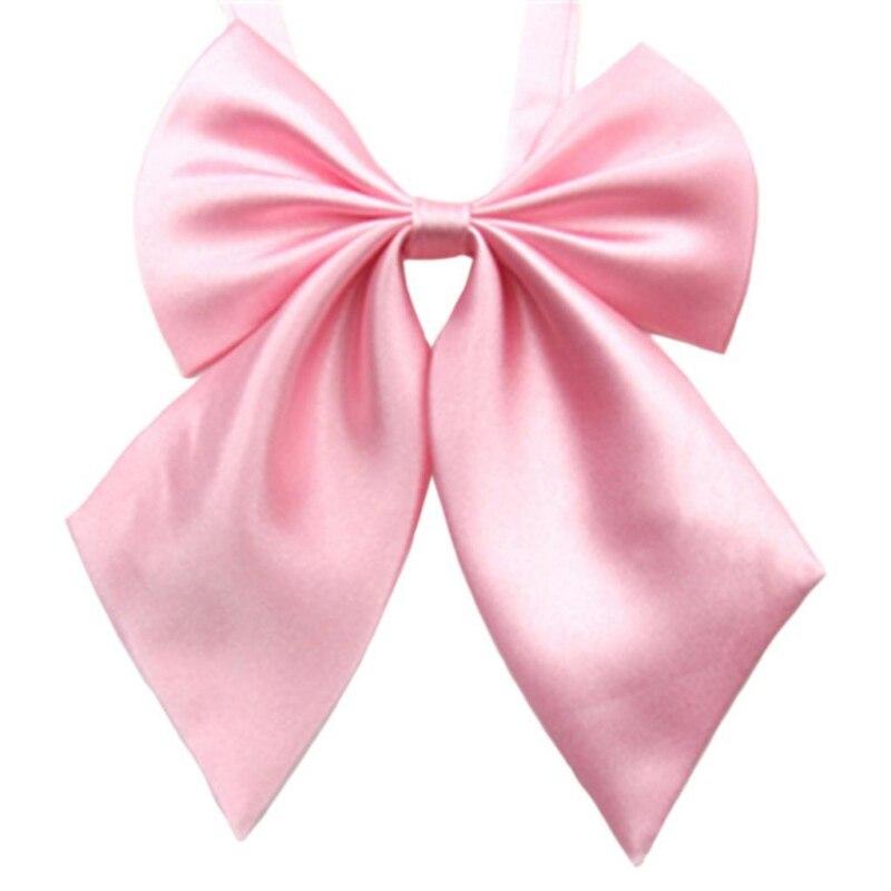 Fashion Vogue Elastic Butterfly Cravat Neck Wear Adjustable Party Solid Color Bow Tie Men Women Accessories s72