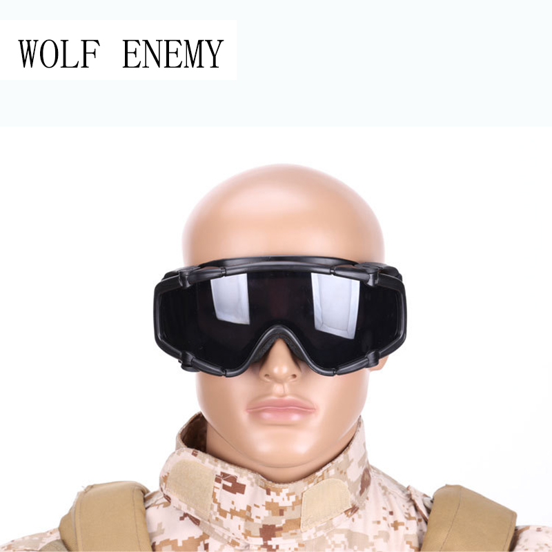 Brand OK Google Glasses with Of Lens Airsoft Tactical Army Paintball Bicycling Motorcycling Eyewear Glasses for Men