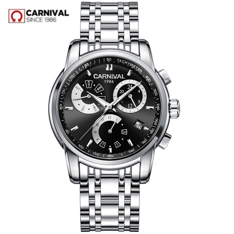 Top brand luxury Automatic Mechanical watch men full steel waterproof Men Watches Clock reloj hombre erkek kol saati montre home carotif automatic mechanical men watches montre full steel male watch reloj hombre waterproof skeleton watch men erkek kol saati page 8