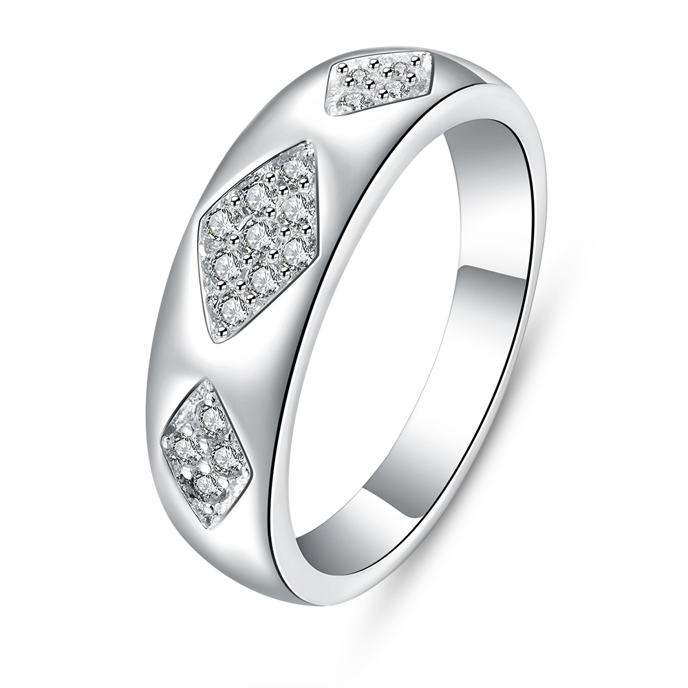 flat shining rings for men sports styles r715 8 hottest newest 925 stamped silver plated - Sports Wedding Rings