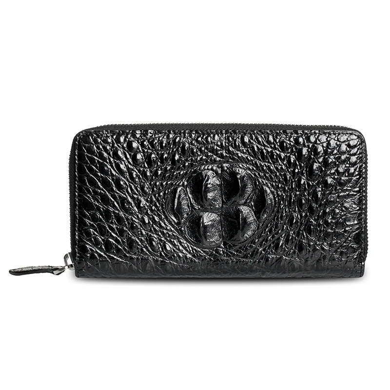 LAMGSIDI Genuine crocodile leather clutch protective case for iphone x 6 7 8plus 5s SE Luxury