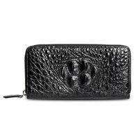 LAMGSIDI натуральная крокодиловая кожа клатч защитный чехол для iPhone X 6 7 8 plus 5s SE Роскошный деловой благородный многофункциональный мешок