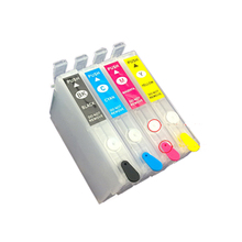 4pcs T1971 T1962 T1963 T1964 Refillable ink cartridge For Epson XP201 XP211 XP204 XP401 XP411 XP214 XP101 WF-2532 printer ink origial print head printhead for epson xp100 xp101 xp102 xp200 xp201 xp202 me500 me535 me560 tx420 tx430 nx420 sx445 sx430w
