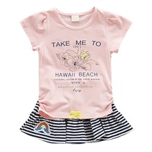 Baby Girls Summer Clothes Set Cute Little T-shirt Mini Skirt Clothing for Infant Girl