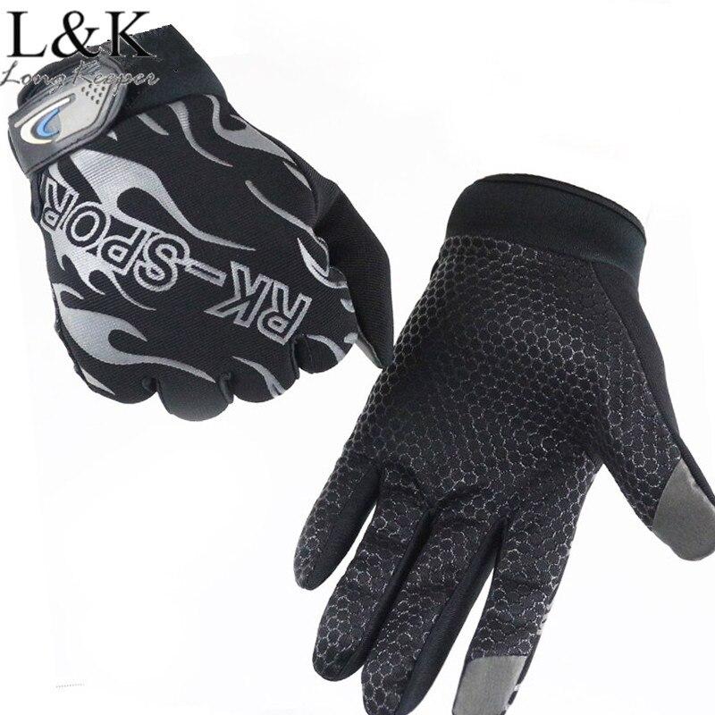 Длинные Хранитель Сенсорный экран мобильного перчатки Для мужчин Для женщин силиконовые Нескользящие полный палец тренажерный зал перчат...