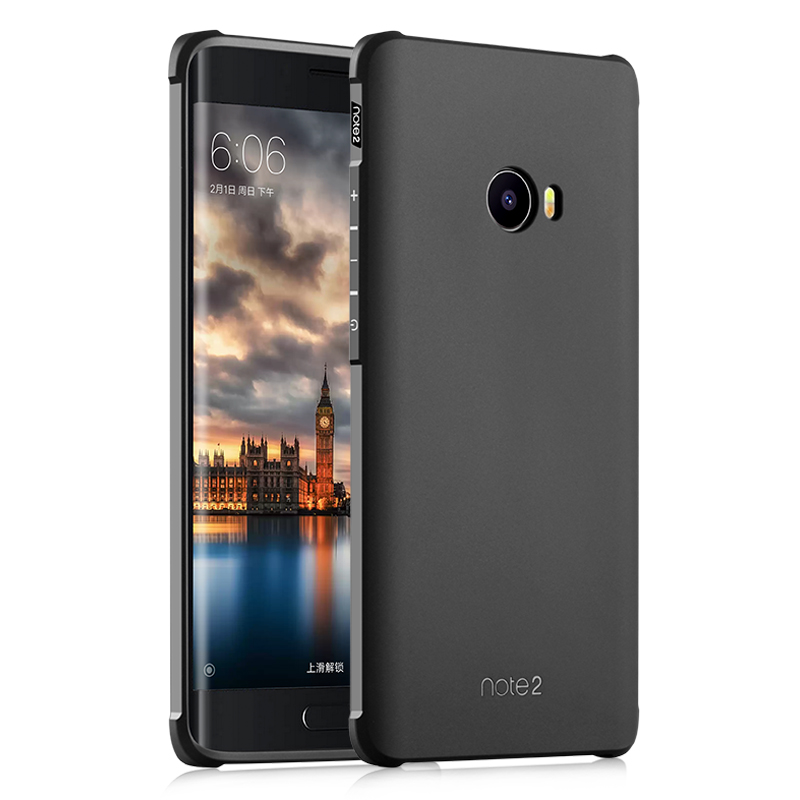 Mooshion Brand High Quality Anti-Knock Rubber Protective Phone Back Case Cover For Xiaomi Mi Note 2 (5.7 inch) Funda Capa