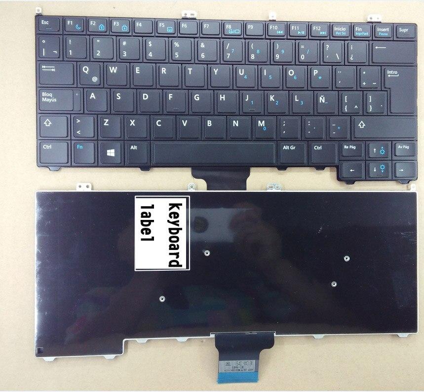 Notícias do teclado do portátil para DELL Latitude E7440 E7420 E7240 E7420D 12 7000 TURCO/LATINA ESPANHOL/ÁRABE/FRANCÊS /layout JAPONÊS