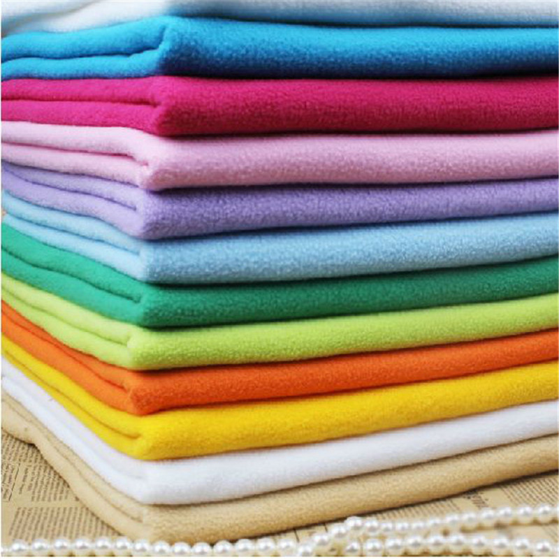 Polar fleece fabric patchwork fabric for sewing coral for Sewing material for sale