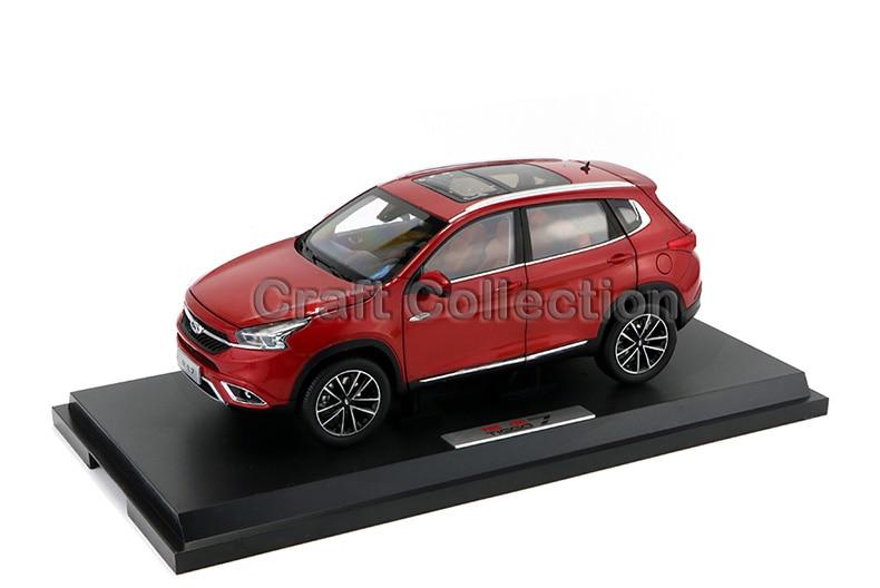 * Red 1:18 Chery Tiggo 7 SUV Diecast Model Car Modell Auto Classical Collection источник бесперебойного питания powercom imperial imp 525ap