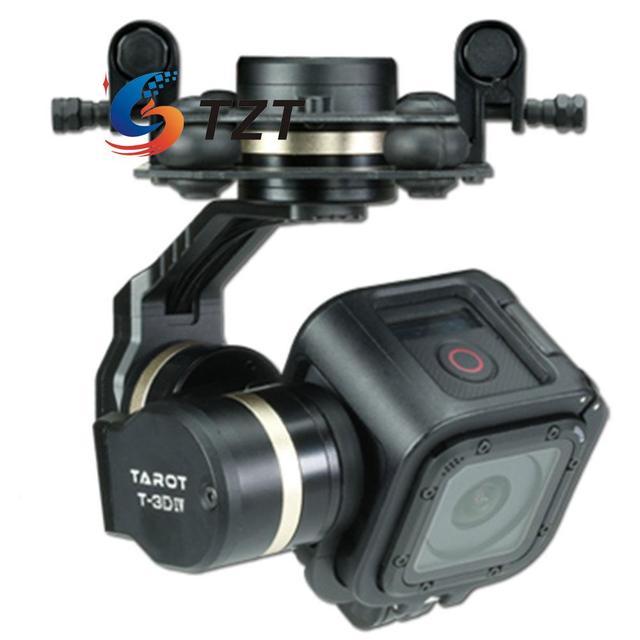 Таро GOPRO HERO4 T-3D IV 3 Оси СЕССИИ Камеры FPV Бесщеточный Gimbal PTZ TL3T02