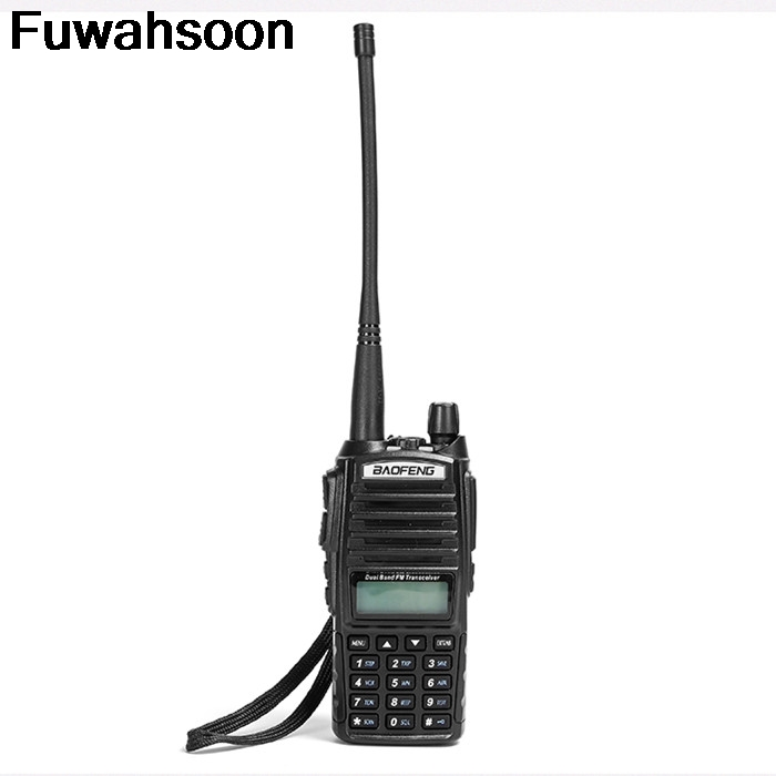 Uv 82 Real 8W Police Scanner With High Mid Low Power Ham Radio Station Amateur Portable