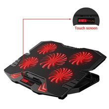 Laptop cooler 2 USB Ports and Five cooling Fan laptop cooling pad Notebook Stand for 12-17 inch for Laptop цена в Москве и Питере