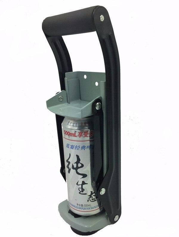 Spedizione gratuita calibro pesante in alluminio può frantoio 12 - Set di attrezzi - Fotografia 2