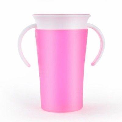 Children Safe Spill 360 Degree Drink Prevent Leaking Cup