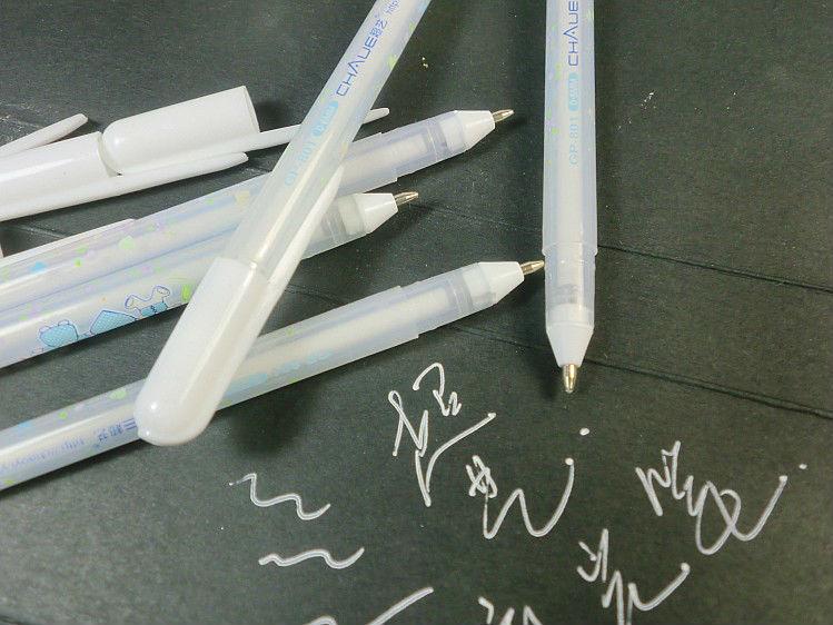 Japan Imported Sakura Jelly Roll 0.4mm White Gel Pen Highlight Liner For Art Marker Design Comic/Manga Painting Supplies