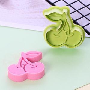 8 шт., летние 3D формочки для печенья, фруктовое мороженое, печенье, штамп, инструменты для украшения помады, Детские игрушечные пресс-инструм...