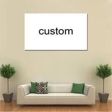 Custom Canvas Prints Schilderen Poster Wall Art Home Decor Voor Woonkamer w-001(China)