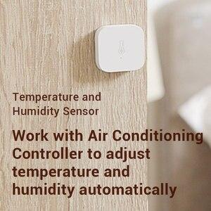 Image 5 - W magazynie, Xiaomi AQara inteligentny czujnik wilgotności temperatury, ZigBee Wifi bezprzewodowa praca z xiaomi inteligentnego domu mijia Mi domu App