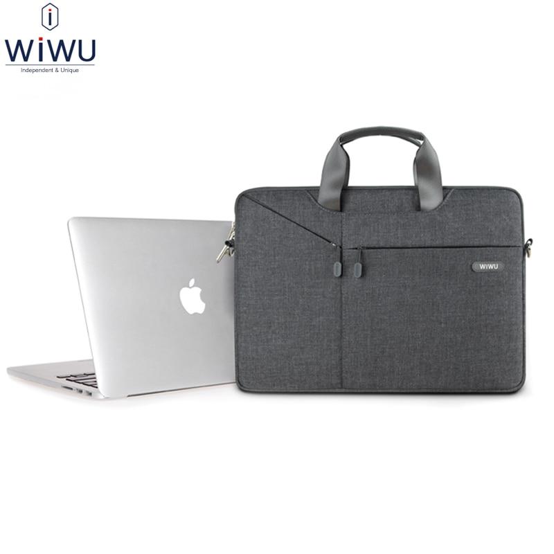 WiWU Laptop Sleeve Bag for Apple Macbook Air/Pro 13 15 12 11 Men Women Business Handbag British Style Notebook Tablet Case