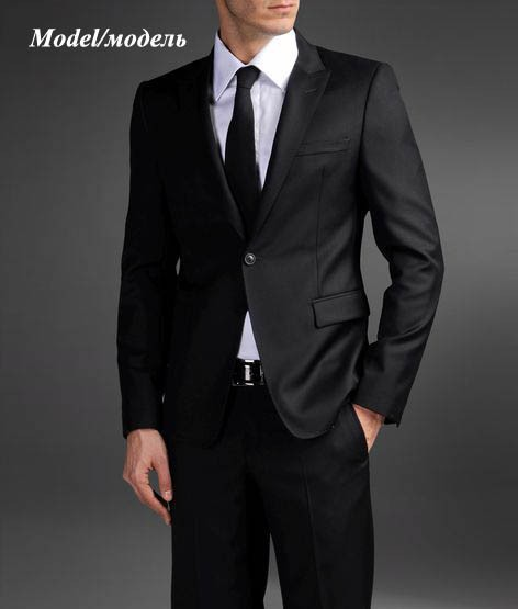 Aliexpress.com : Buy groom black tuxedo slim fit 2015 shiny suits