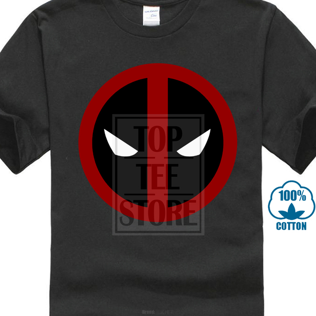 ecc48a175 Classic Deadpool 2018 Funny Marvel T Shirt Simple Logo Printed Mens Own  Hero T-Shirt Summer Men Tops Tees Plus Size