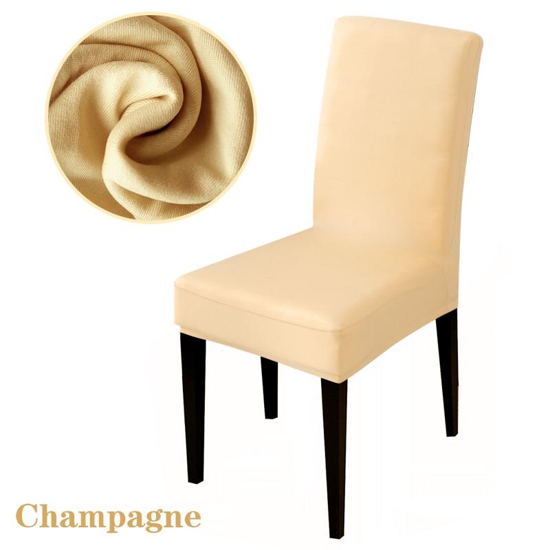 Καθαρό χρώμα Καρέκλες κάλυψης - Αρχική υφάσματα - Φωτογραφία 5