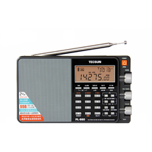 TECSUN PL-880 Portable Stereo Full Band Radio with LW/SW/MW SSB PLL Modes FM (64-108mHz)