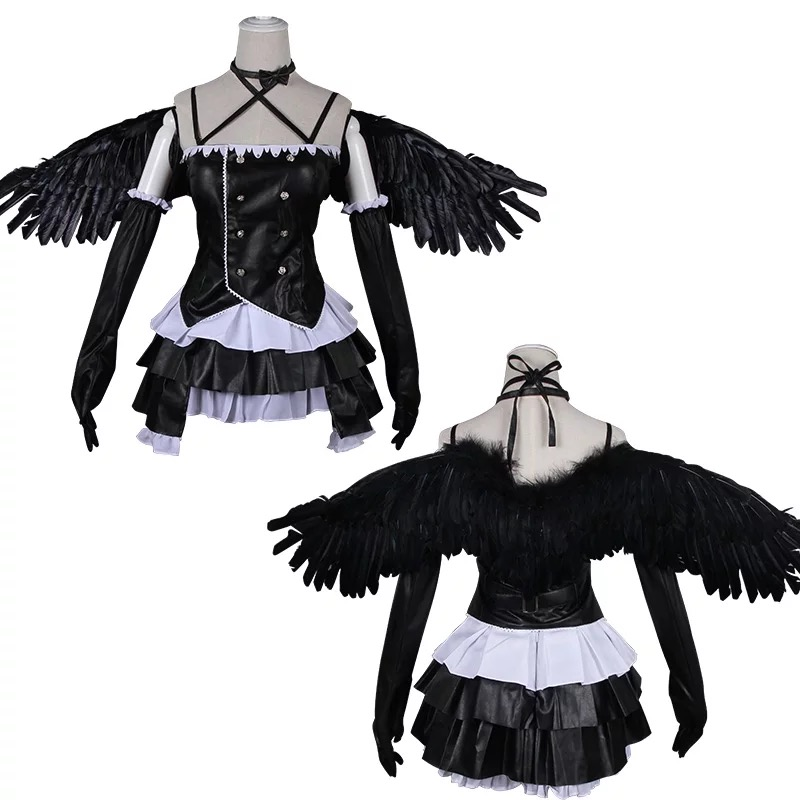Love live!Sunshine! Devil Awaken Tsushima Yoshiko  Devil Full Set Include Wings Cosplay Costume Halloween costume Free Shipping.