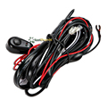 200/250cm LED Light Offroad Harness Wire Relay Kit Fit Fog Lamp Spotlight Work Light Bar Wire Loom Harness Power Switch Kit 12V