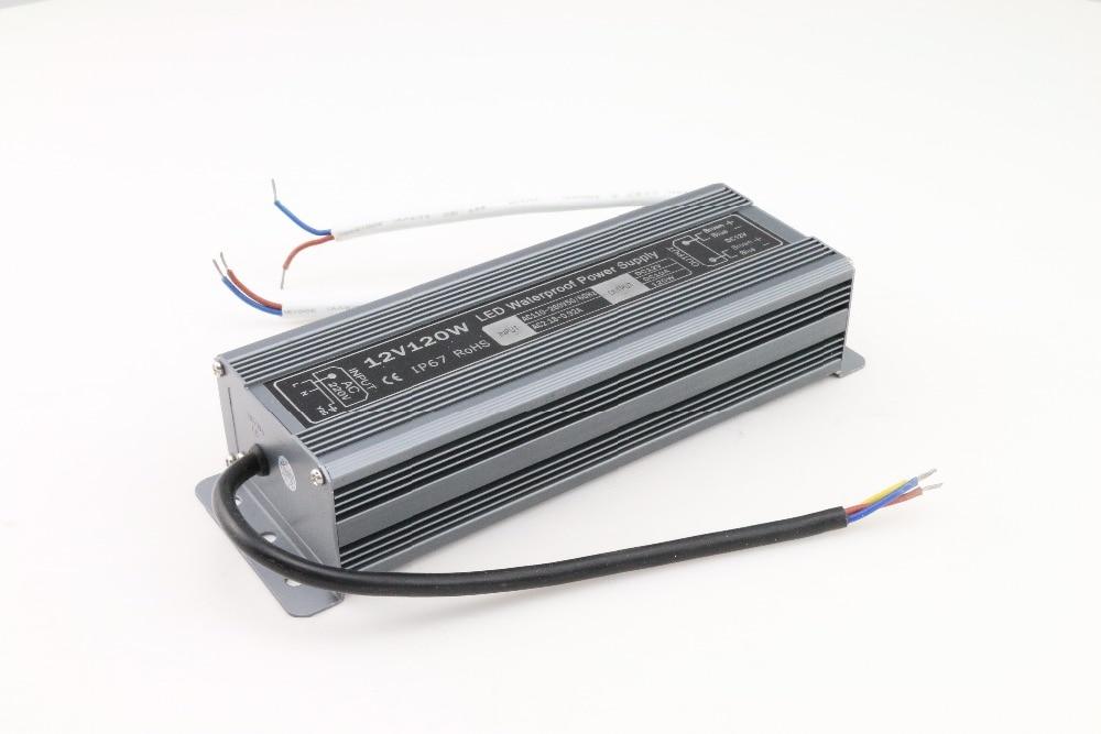 new new LED Strip Power Supply 110V 220V 264 V to 12V 10 A LED Driver IP67 Waterproof Ultra Thin LED Light Transformer 120W new new led strip power supply 110v 220v 264 v to 24 v 5 a led driver ip67 waterproof ultra thin led light transformer 120w