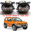 For SUZUKI JIMNY FJ Closed Off-Road Vehicle 1998-2014  LED fog lights Car styling fog lamp 1SET