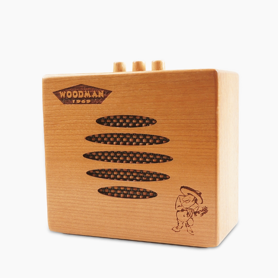 Portable 10W Wood Guitar Amplifier Bluetooth 3.5/6.5mm Plug Audio Transmission High Quality For Classicl Musical Instrument