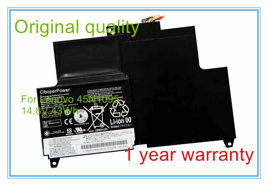 Original  45N1169 45N1168 45N1095 45N1094 2870mAh laptop battery for  S230U|laptop battery|battery for laptoporiginal laptop battery - title=