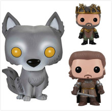 Funko POP Anime Song Of Ice And Fire Game Of Thrones Collectible Model Toys PVC Movie Action Figure Kids Toys For Chlidren 2019 new movie game of thrones anime figure viserion ice dragon pvc action figures collection model toys doll gift