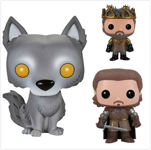 Funko POP Anime Song Of Ice And Fire Game Of Thrones Collectible Model Toys PVC Movie Action Figure Kids Toys For Chlidren