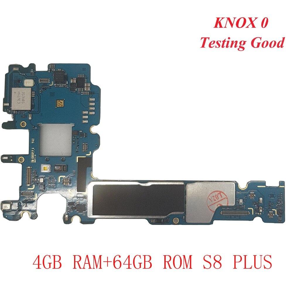 Carte mère d'origine pour Samsung Galaxy S8 Plus g955u G955F G955FD carte mère déverrouillage avec puces carte mère IMEI Android OS