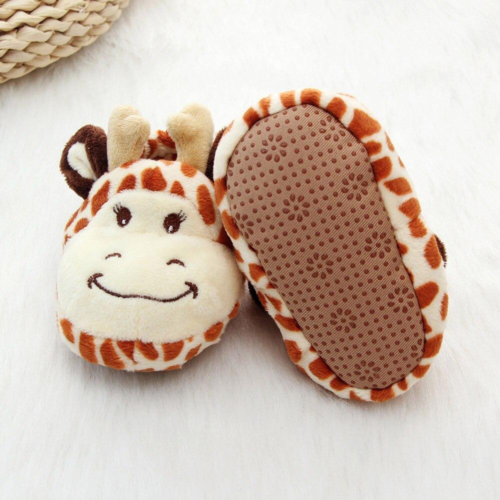 Новинка! TELOTUNY детская обувь зимние милые толстые теплые обувь для новорожденных для мальчиков и девочек обуви для малышей 0-36 месяцев U71208 ...