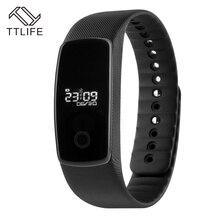 TTLIFE Высокое качество Смарт Браслет мониторинг сна фитнес-трекер Bluetooth Сенсорный экран Смарт-браслет для IPhone Xiaomi Телефоны