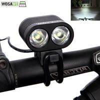 WOSAWE Bike Light Lamp 2400 Lumen CREE XML T6 LED Cycling Bicycle HeadLight Headlamp Bike Front
