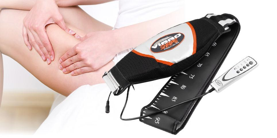 NEW Electric Vibrating Slimming Belt Vibration Massager Belt vibra tone RELAX TONE vibrating fat burning weight loss body wraps electric vibrating slimming belt massage thin waist belly rejection body sculpting wraps at burning weight loss lazy diet