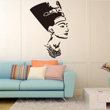 IDFIAF new symbol of ancient Egypt queen's interior design wall decals stickers girl sitting room bedroom home decoration wall