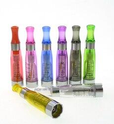 Ce4 atomizador clearomizer para ego-t evod vape caneta 510 fio eletrônico e cigarro ecigs 1.6ml 8 cores
