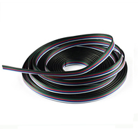 10m RGBW Extension Cable Line Cord Connector 5pin 5 Color Stand Wire For RGBW RGBWW LED