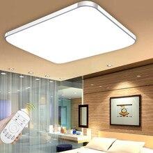 2016 de montaje en superficie de techo llevada moderna luces de la sala de estar lámpara de interior iluminación decorativa pantalla Envío Gratis