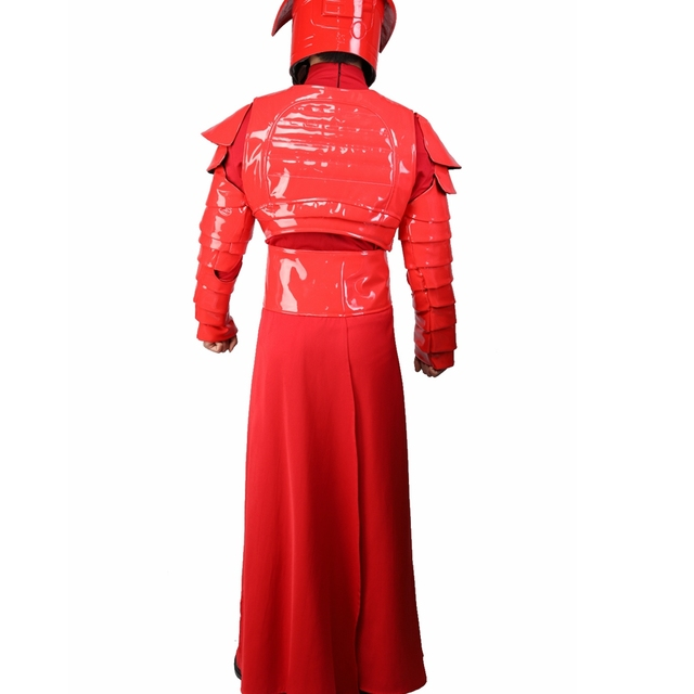 X-COSTUME Star Wars Episode VIII: The Last Jedi Movie Elite Praetorian Guard Suit Outfit PU Leather & Terylene Cosplay Constumes 5